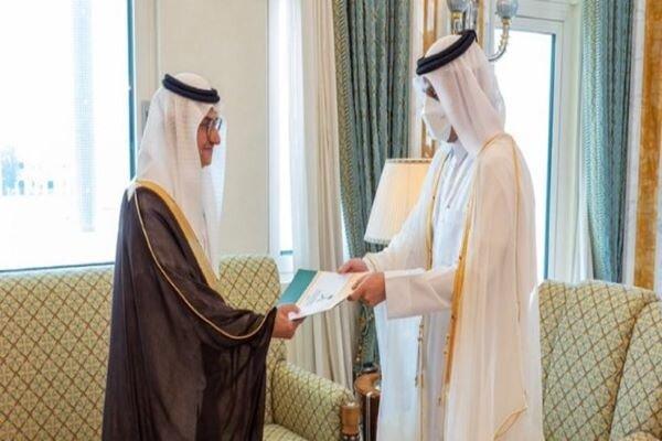 عربستان سعودی سفیر تازه خود را به قطر فرستاد