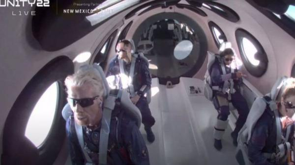 سفر میلیاردر بریتانیایی به لبه فضا