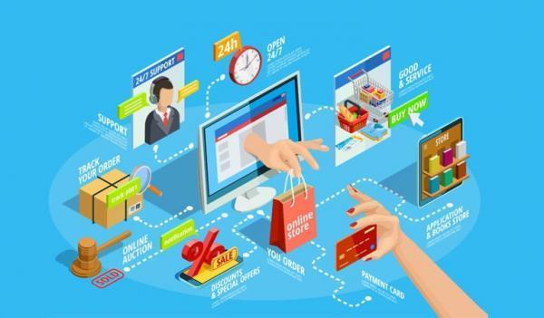 تحقق رشد 6.8 برابری تجارت الکترونیکی در 3 سال گذشته
