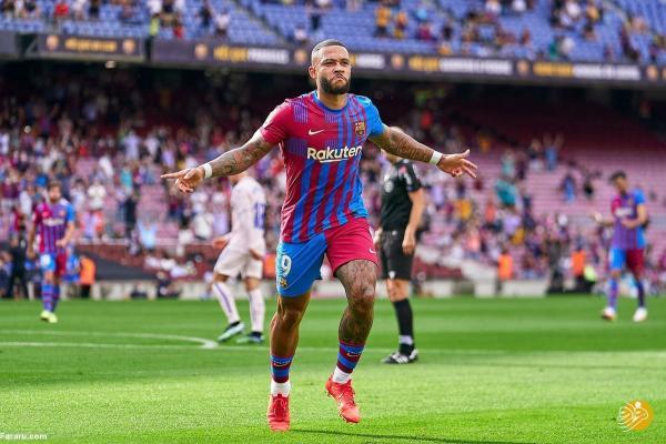 خلاصه بازی بارسلونا 2 ، 1 ختافه؛ برد با گل دپای