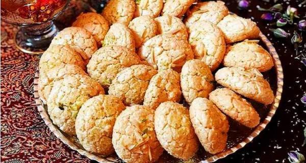 طرز تهیه شیرینی نارگیلی بازاری مخصوص عید نوروز